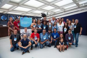 Foto dos participantes do Encontro